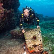 Five shipwrecks located off Kasos