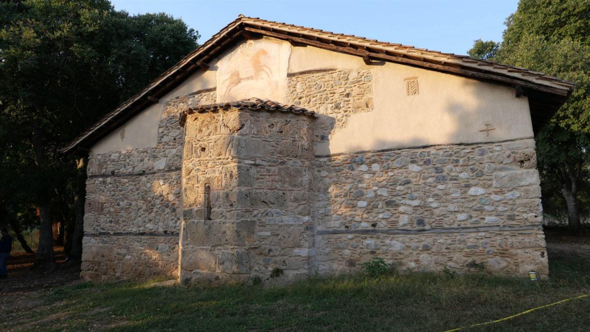 View of the church of Agios Dimitrios Palatitsion (photo: Imathia Ephorate of Antiquities)