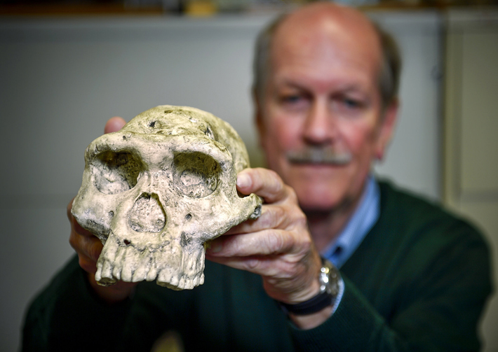 Reid Ferring, a professor in the University of North Texas Department of Geography and the Environment, is part of an international team of scientists who have developed a breakthrough method of identifying the sex and species of animal in fossils more than a million years old.
