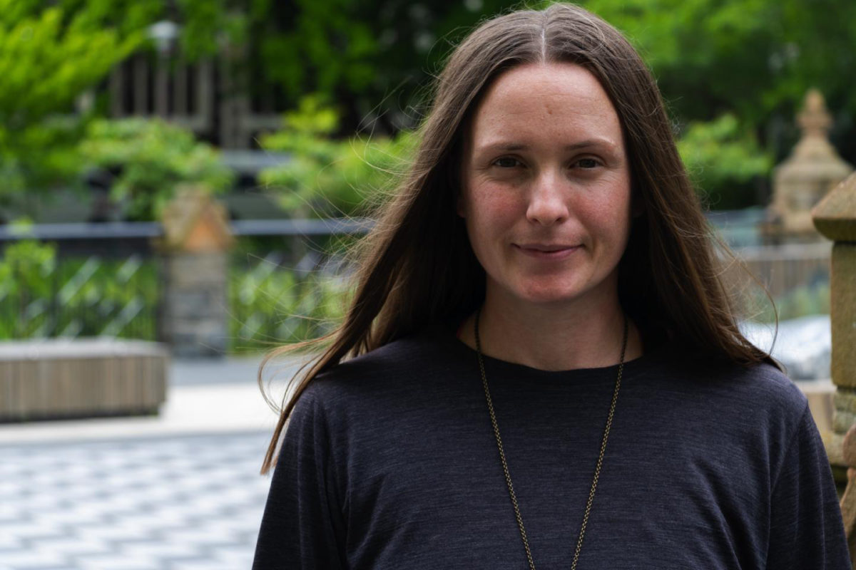 Dr. Rebecca Kinaston, University of Otago. Credit: University of Otago