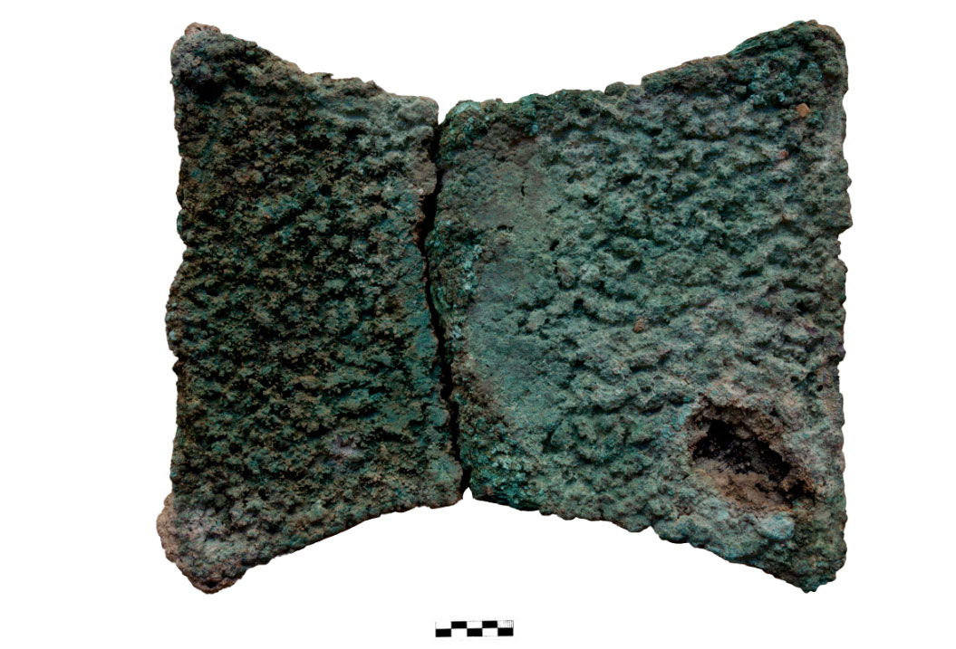 Copper ingot (photo: MOCAS).