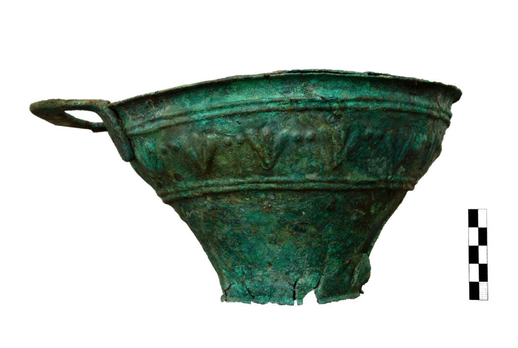 Copper vessel (photo: MOCAS).