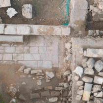 Excavating in Nea Paphos in 2019