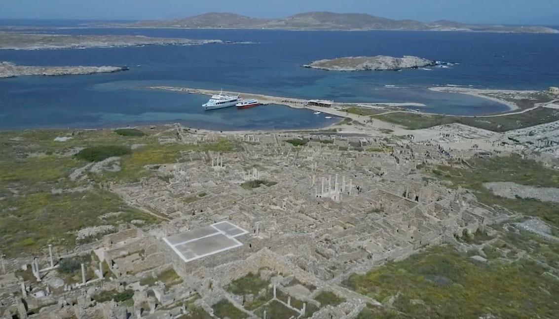 View of Delos.