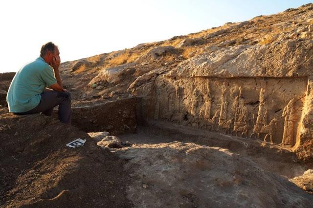 Faida, Relief No. 4, 8th-7th cent. BC. Credit: Alberto Savioli, LoNAP.