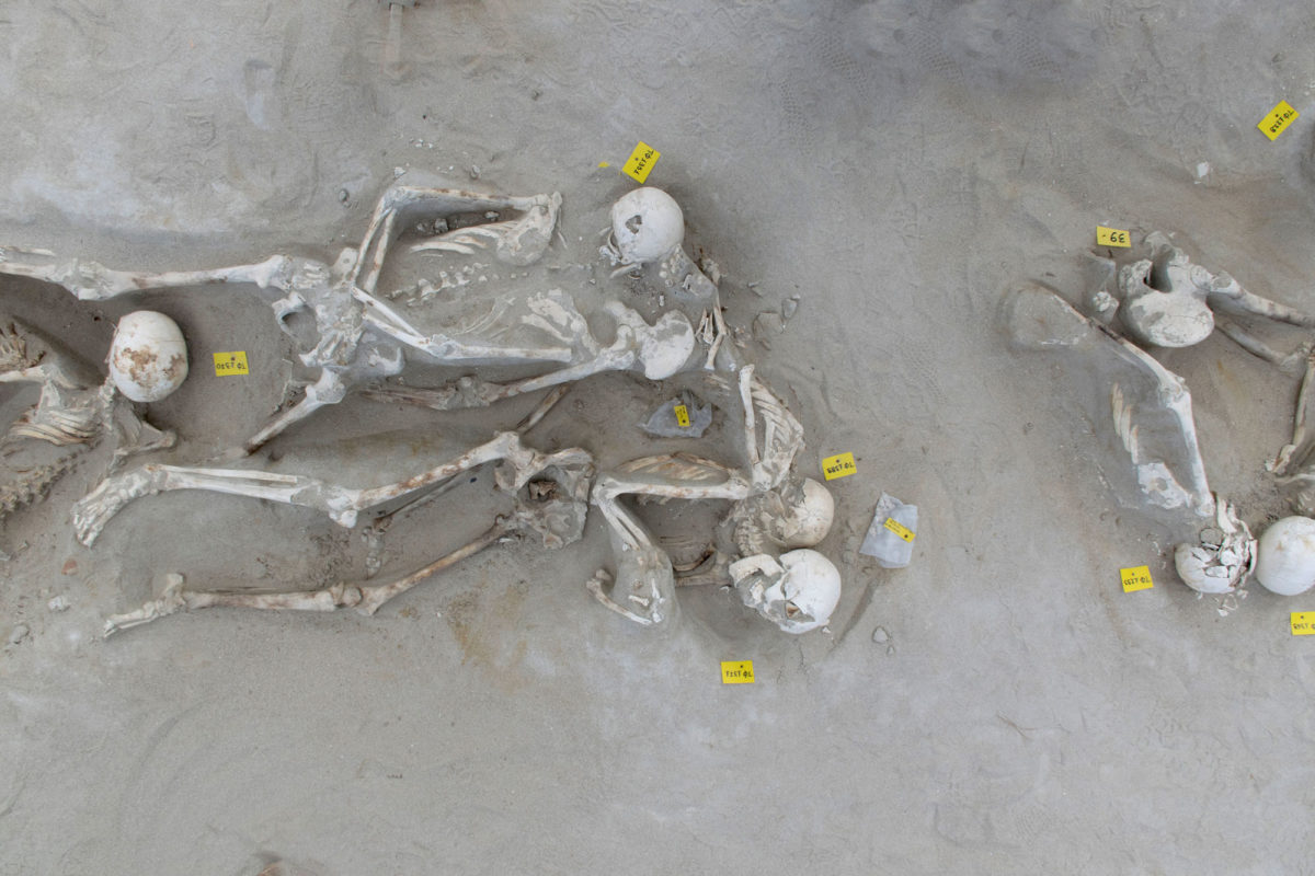 Captives of Phaleron, 2020. Row 2. Photo: Ministry of Culture and Sports