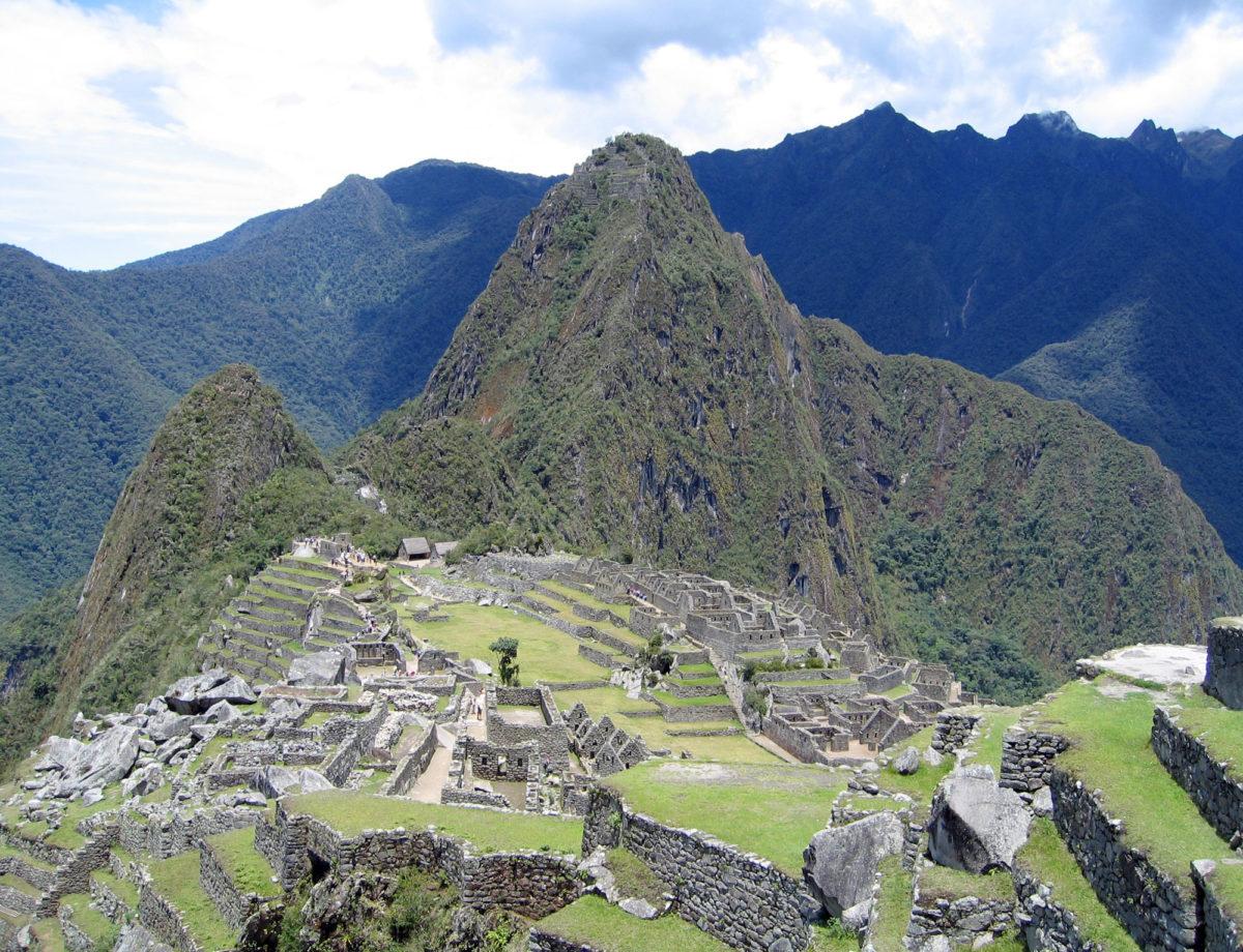 Machu Picchu (photo: Wikipedia).