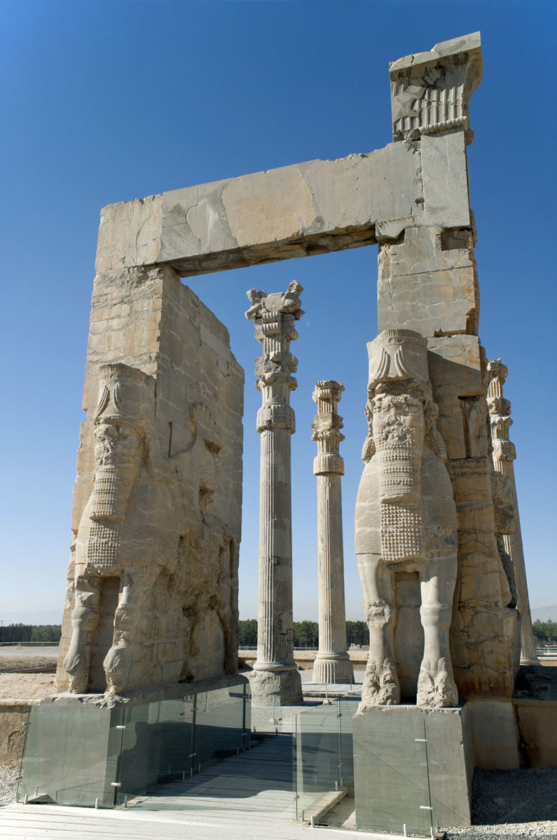 Persepolis, the Gate of Nations (photo: Wikipedia )