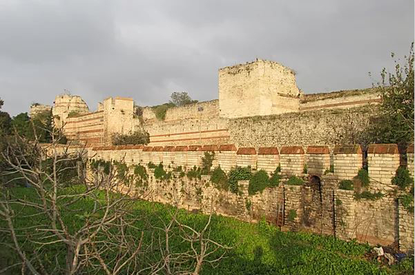 The Theodosian Walls are among the most impressive monuments of Late Antiquity.