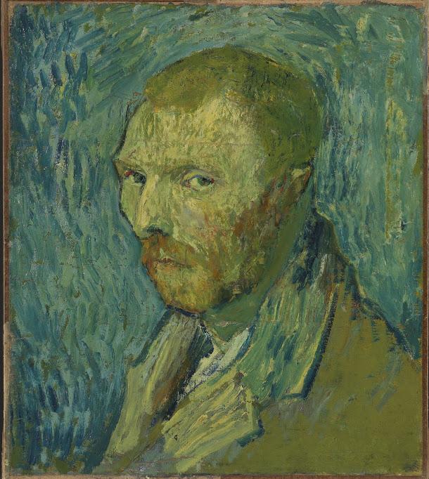 Vincent van Gogh, Self-Portrait, 1889, oil on canvas, 51.5 x 45 cm, Nasjonalmuseet for kunst, arkitektur og design, Oslo