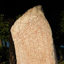 The Vikings erected a runestone out of fear of a climate catastrophe