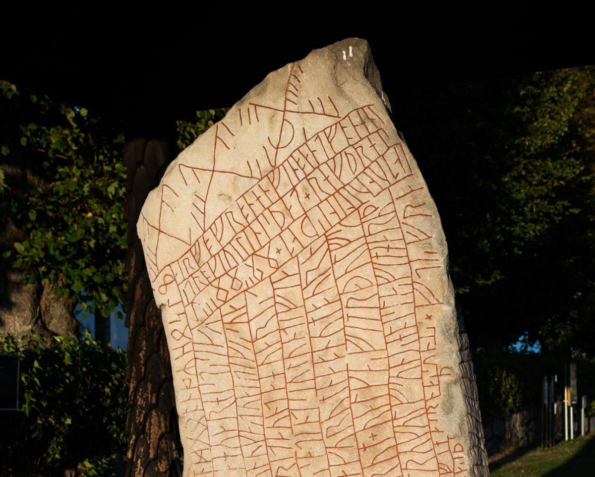 Rök runestone. Credit: Helge Andersson