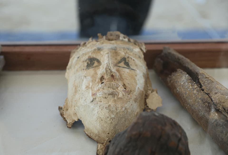 Funerary mask from Tuna el Gebel.