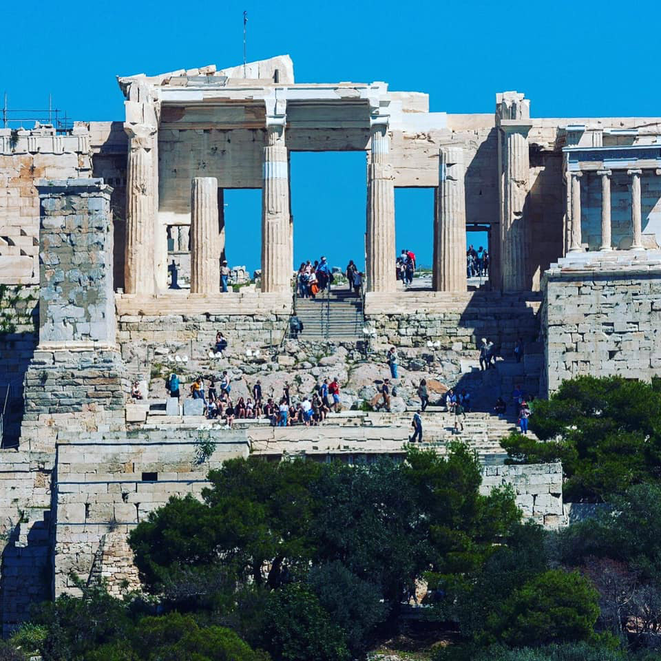 The Athenian Acropolis (photo: MOCAS)