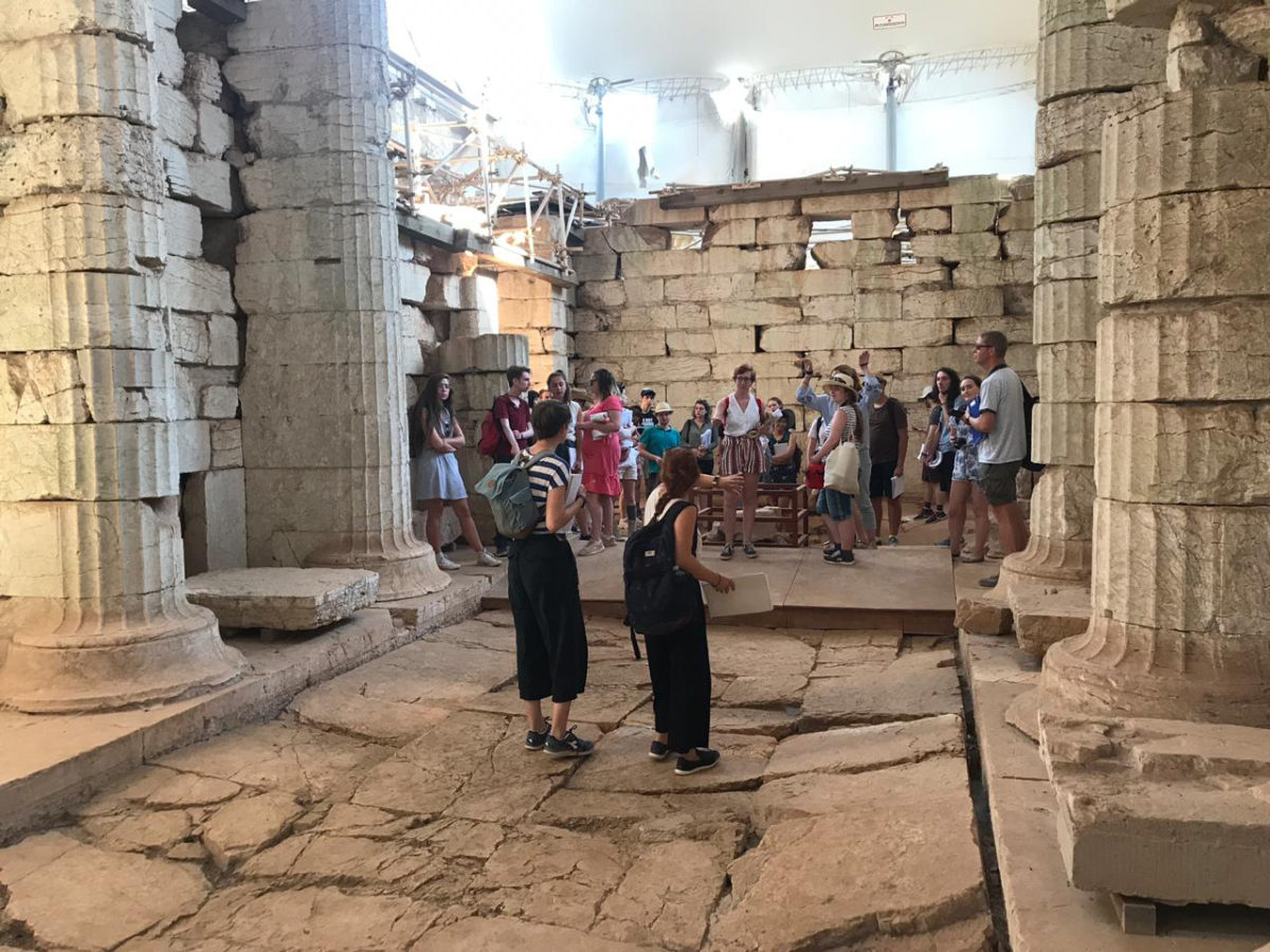 Each summer the School leads a three-week residential course for UK-based undergraduates on 'The Archaeology and Topography of Greece'.