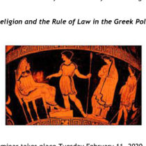 Religion and the Rule of Law in the Greek Polis