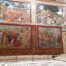 The Raphael Tapestries return to the Sistine Chapel