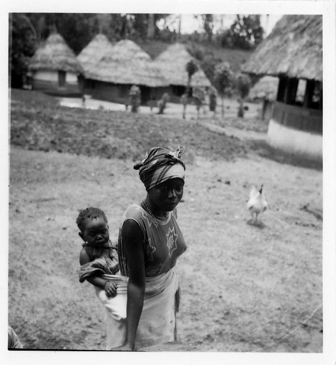 Woman with child, Panguma (Sierra Leone), 1934. Sjoerd Hofstra - African Studies Centre Leiden