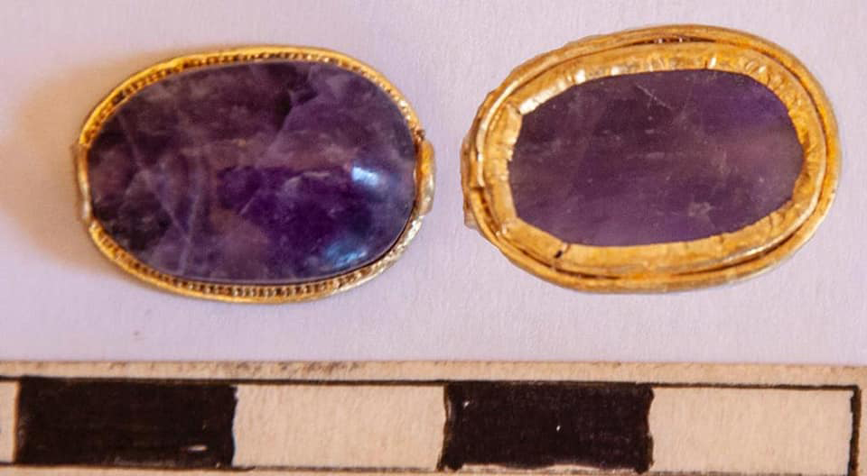 Finds from Umm El-Khelgan.