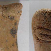 Unique bone figurine discovered in one of world's oldest cities