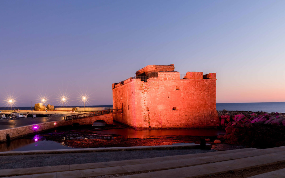 The Paphos Castle. Credit: Department of Antiquities, Ministry of Transport, Communications and Works