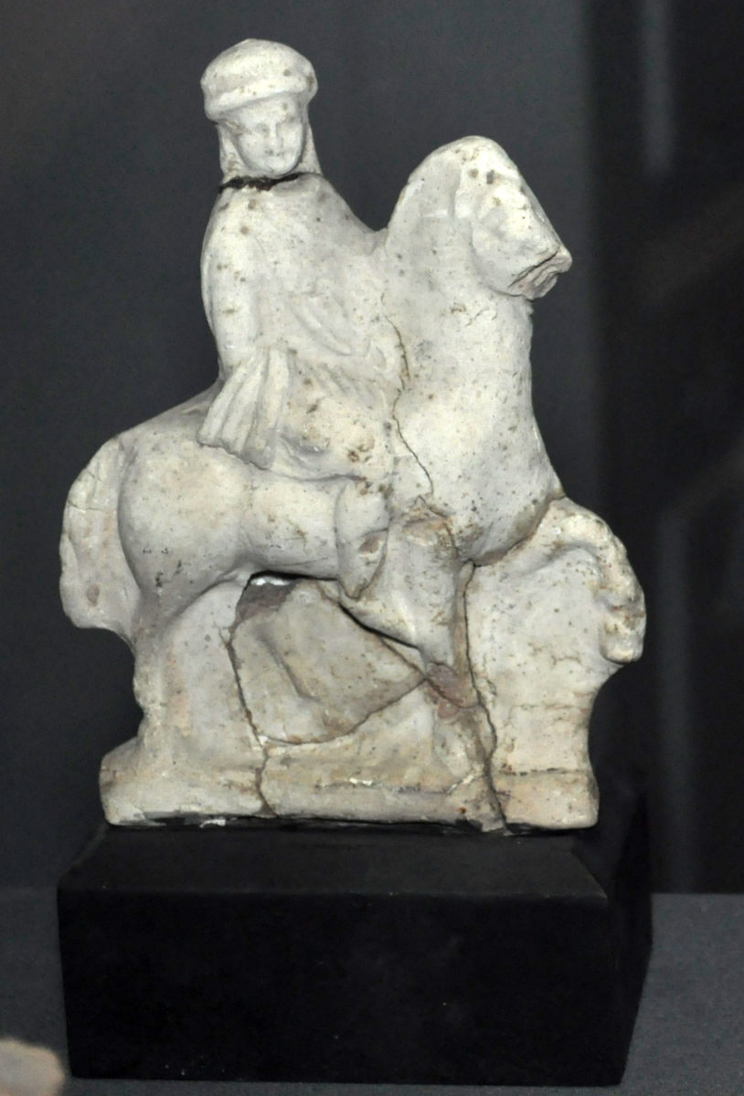 Figurine of a young Macedonian.