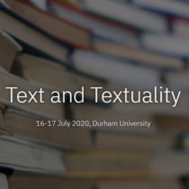 Text and Textuality