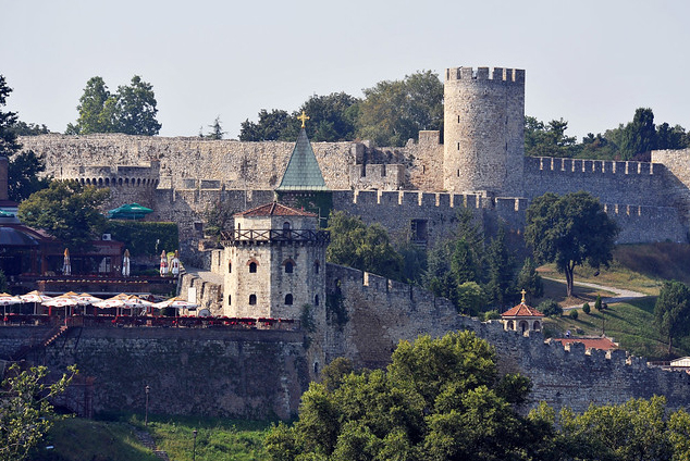 Belgrade Fortress and its Surroundings, Serbia. Credit: Europa Nostra