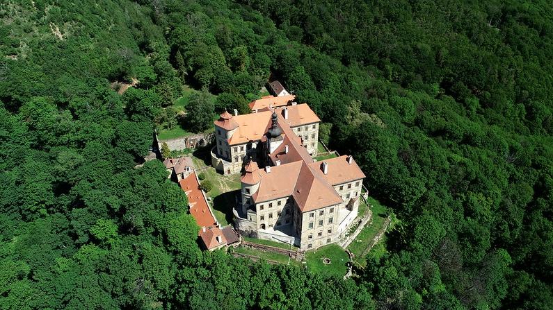 Castle Jezeří, Horní Jiřetín, Czech Republic. Credit: Europa Nostra