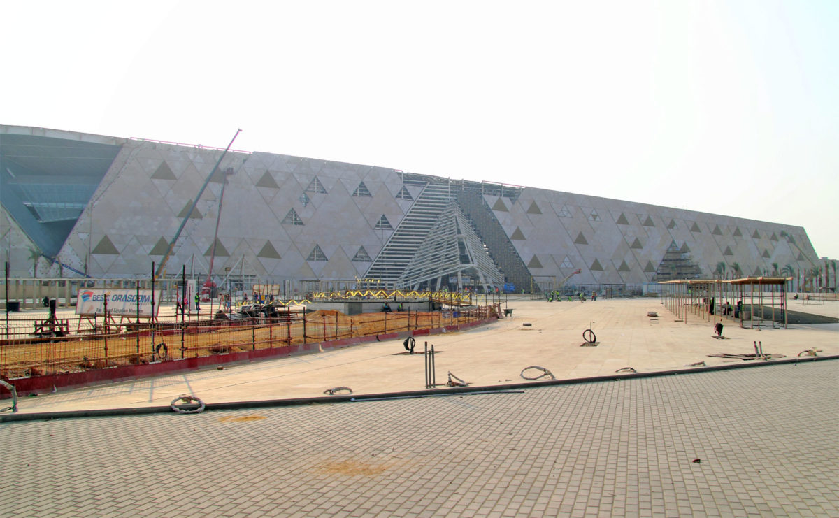 The Grand Egyptian Museum under construction (photo: Wikipedia)