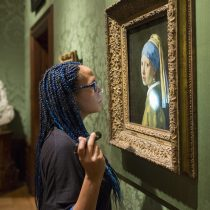 Closer to Vermeer and the Girl