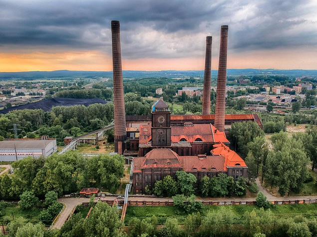 Szombierki Power Plant, Bytom, Poland. Credit: Europa Nostra