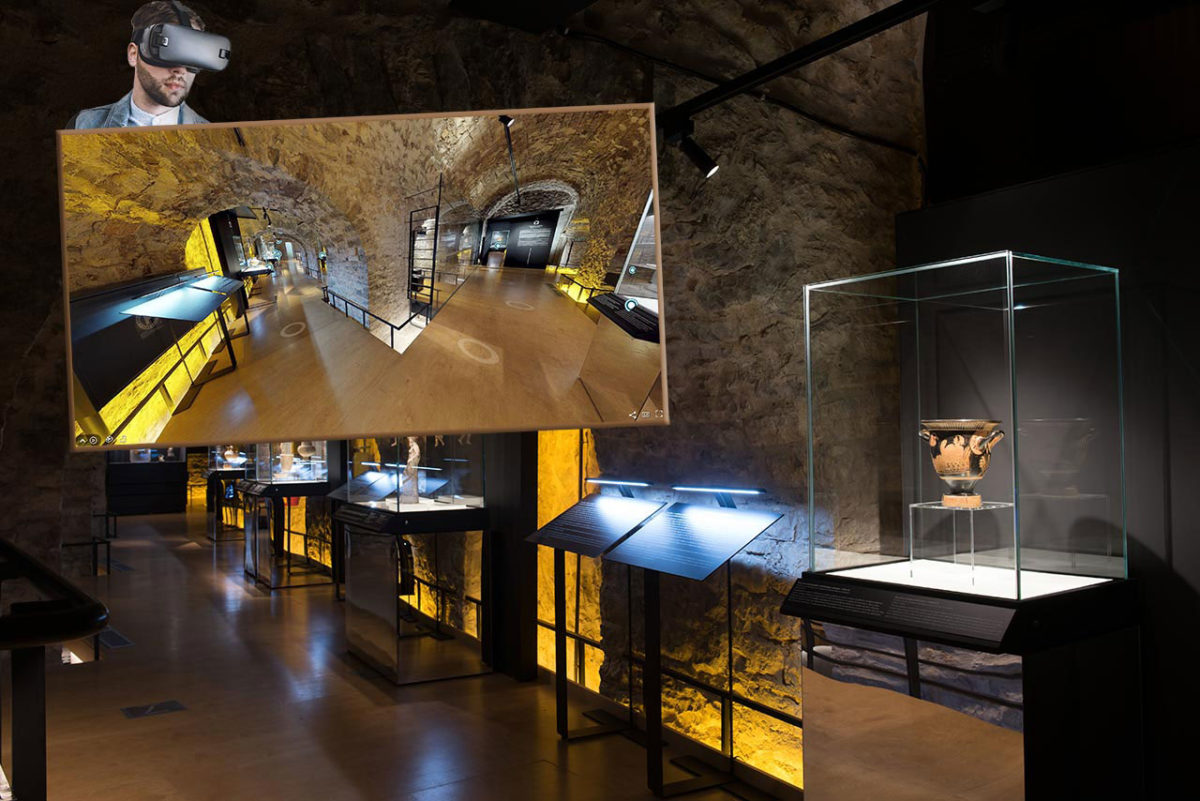 Virtual tour of the exhibition presented at the Silversmithing Museum of the Piraeus Bank Group Cultural Foundation.