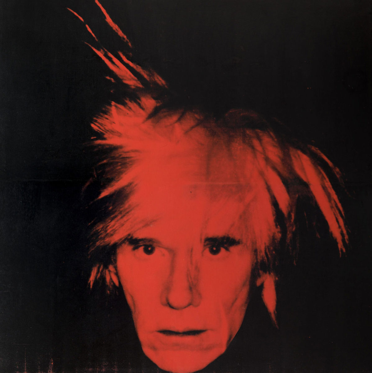"""Andy Warhol, """"Self-Portrait"""", 1986, Tate Modern. © 2020 The Andy Warhol Foundation for the Visual Arts, Inc. / Licensed by DACS, London."""