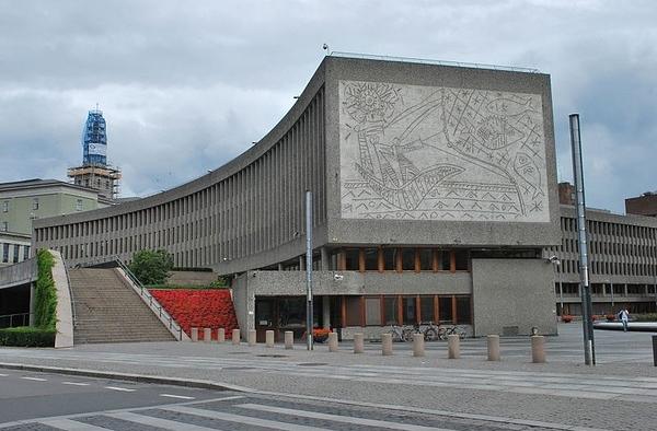 Y-block, Government Quarter, Oslo, Norway. Credit: Europa Nostra