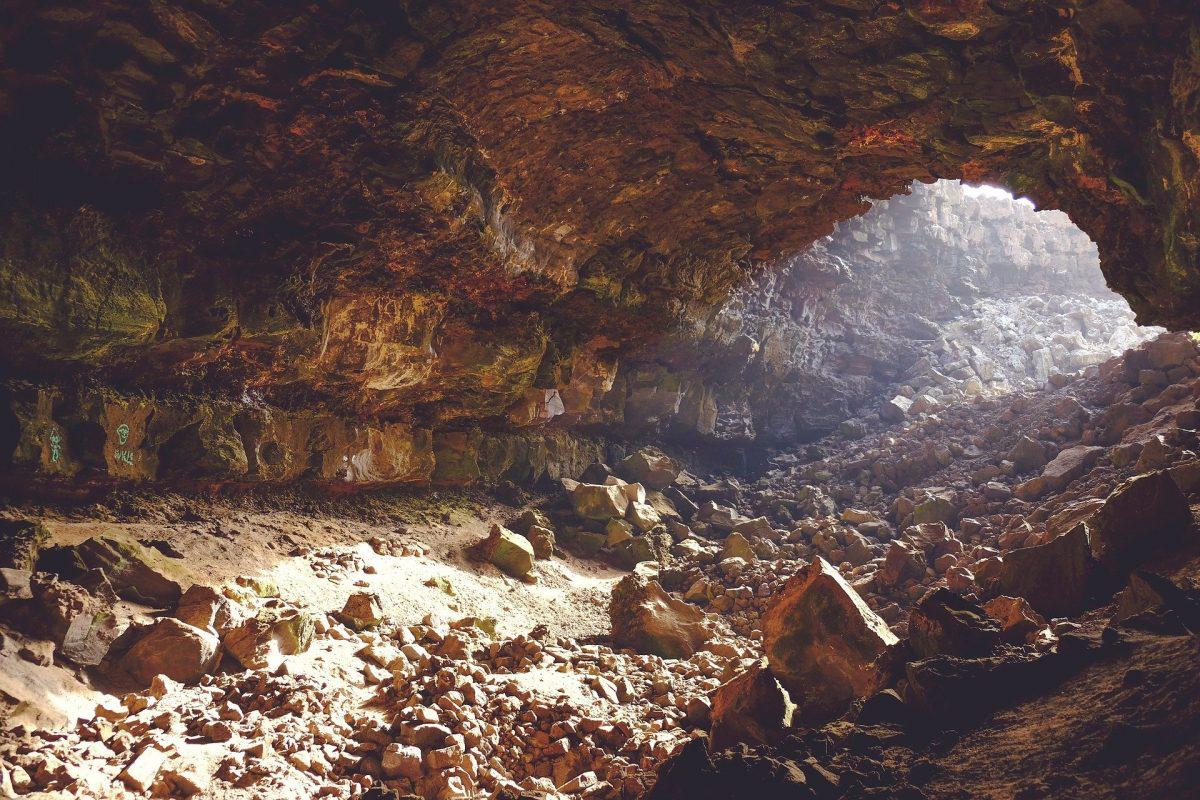 Cave. Credit: Public Domain