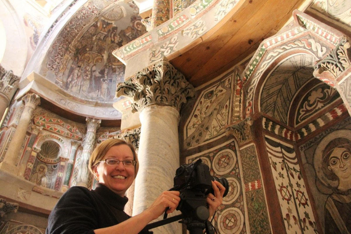 Elizabeth Bolman will lecture on three iconic Egyptian Christian monuments. Photo: ARCE.