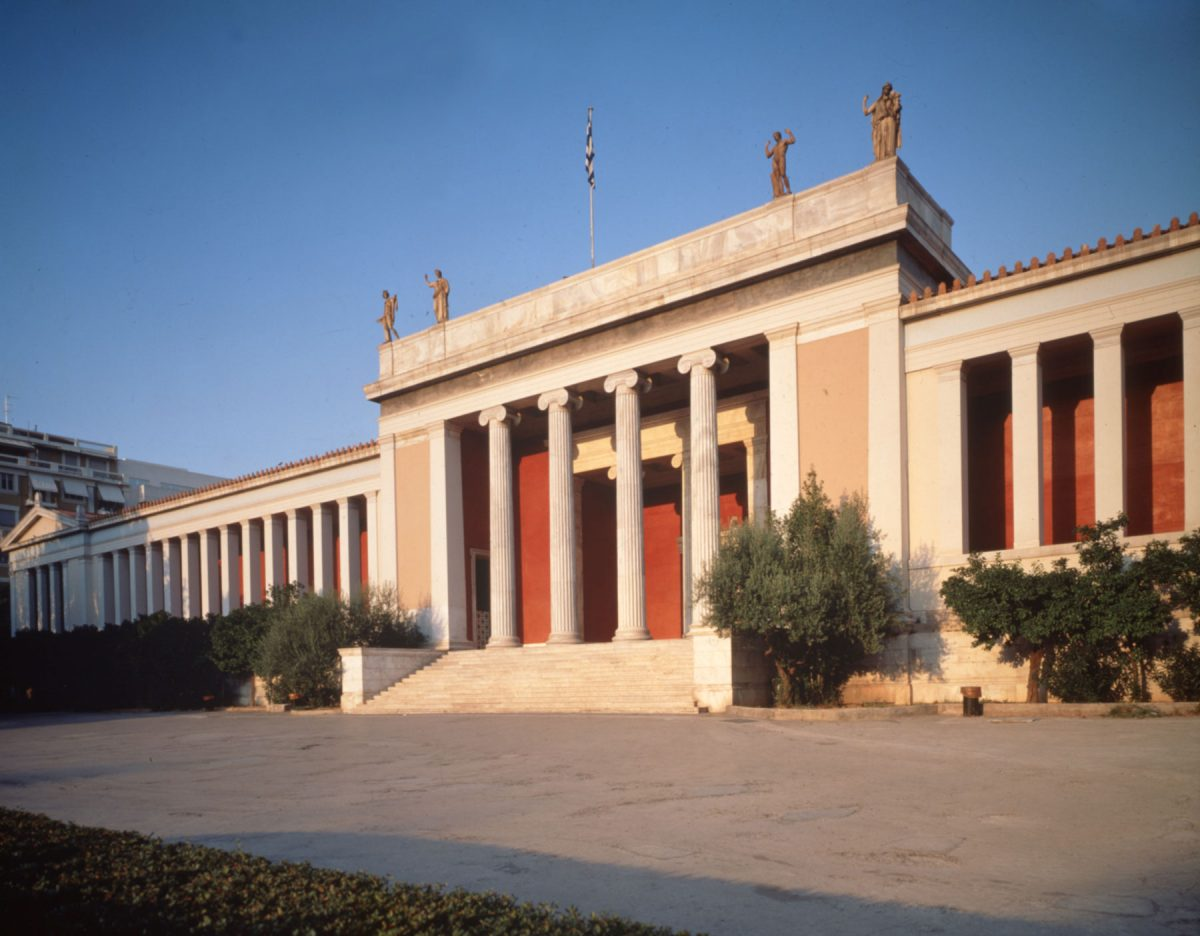 The National Archaeological Museum (©Fund of Archaeological Proceeds/National Archaeological Museum).