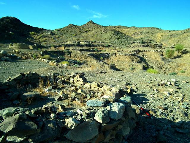 Prehistoric structures found in the area. Credit: Hossein Vahedi