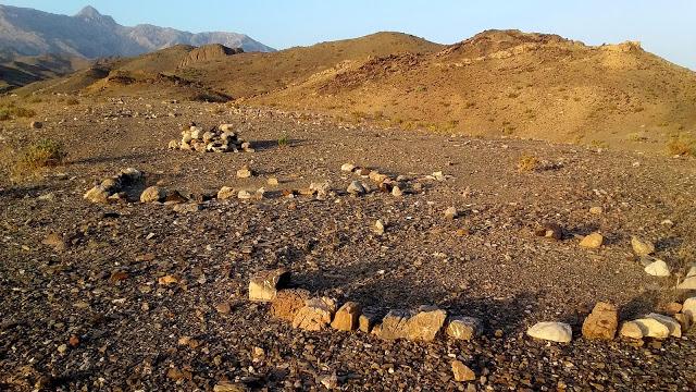 Prehistoric circular structures found in the area. Credit: Hossein Vahedi