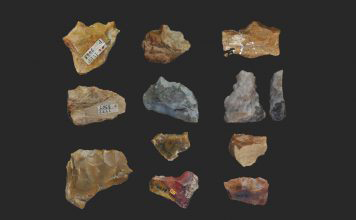 Stone tools. Credit: Science China Press