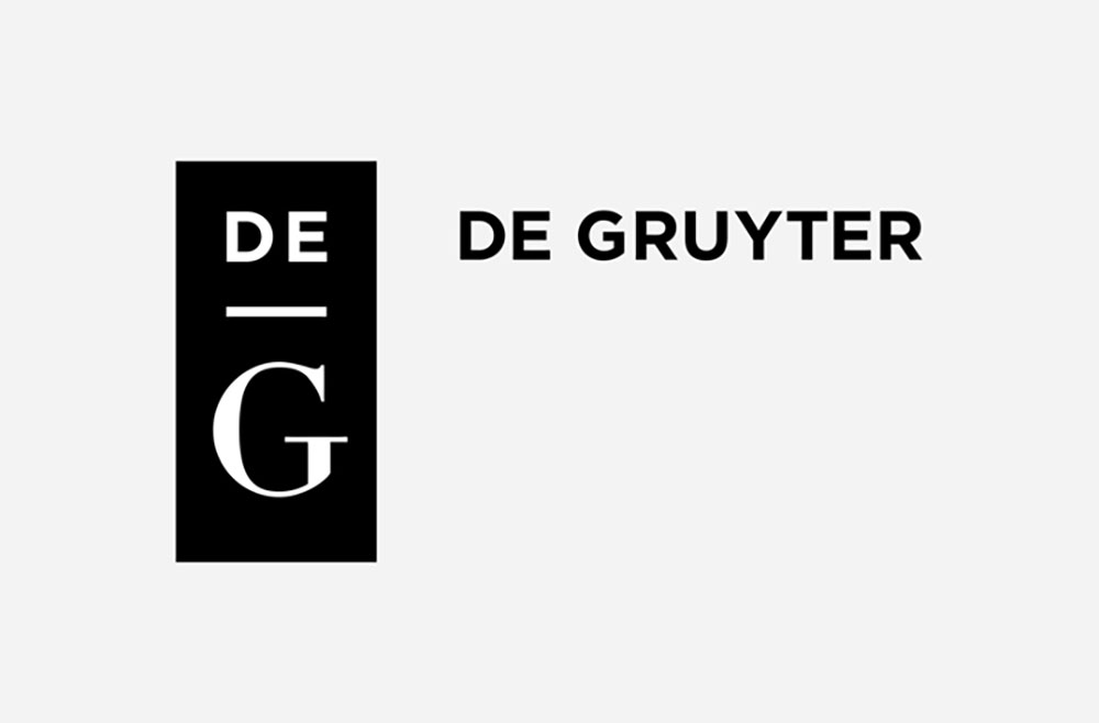 The issue is published by De Gruyrer.