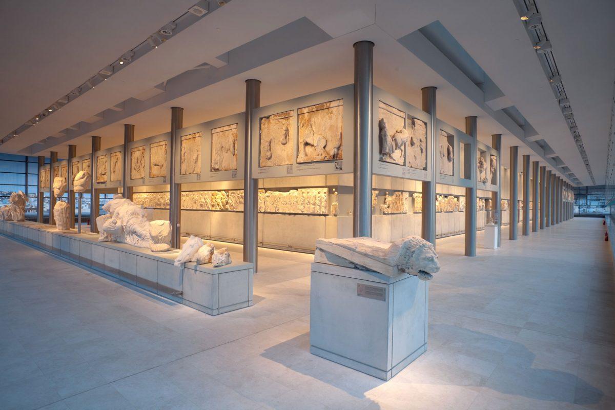 The Parthenon Hall. © Acropolis Museum. Photo: Nikos Daniilidis.