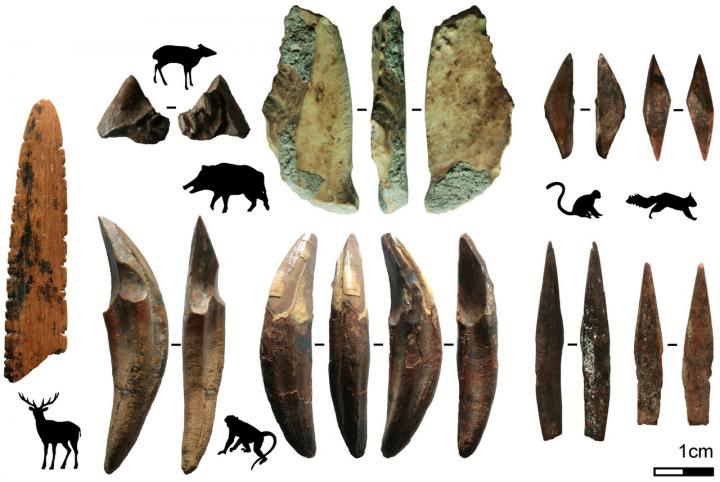 Fa-Hien Lena has emerged as one of South Asia's most important archaeological sites since the 1980s, preserving remains of our species, their tools, and their prey in a tropical context. Credit: Langley et al., 2020