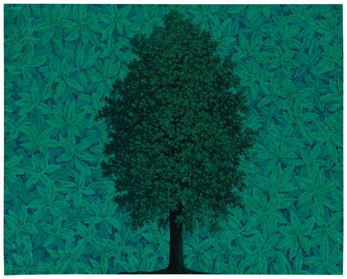 René Magritte's L'arc de triomphe (1962, estimate: £6.5-9.5 million).