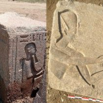 Ancient Egyptian embossed blocks of Ramesses II discovered