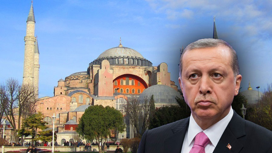 "Erdogan: ""We are making Hagia Sophia a mosque again"""