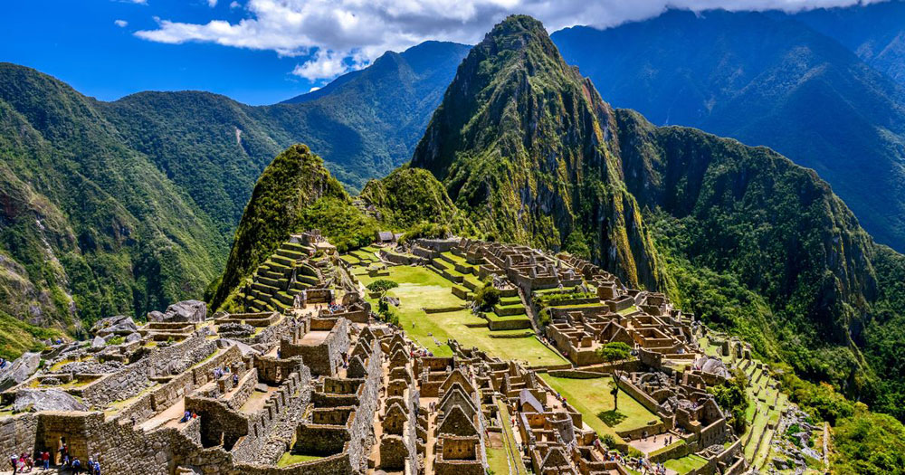 Machu Picchu, whose name means Old Mountain in the Quechuan language, was built during the reign of Emperor Pachacuti (1438 -1471). It was discovered in 1911 and was included in the UNESCO World Heritage List in 1983.