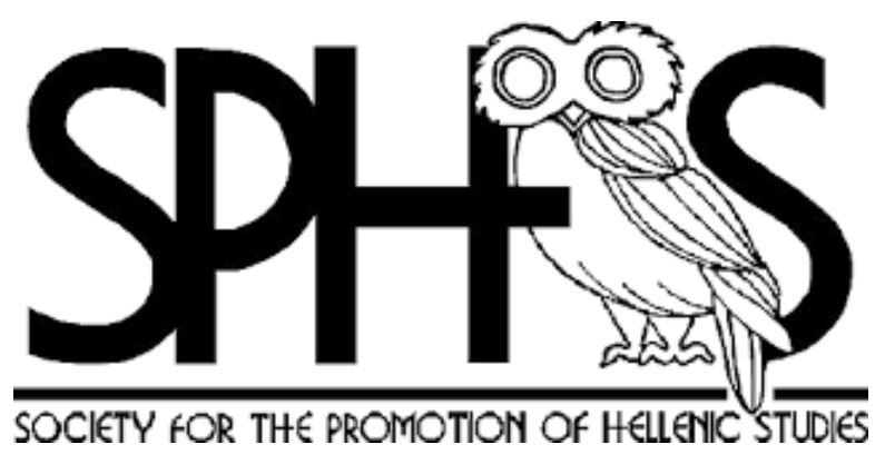 Logo of the Society for the Promotion of Hellenic Studies.