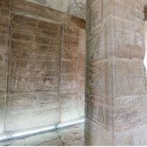 Virtual tour in the Temple of Amada, Egypt